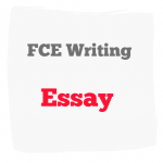 FCE writing Essay