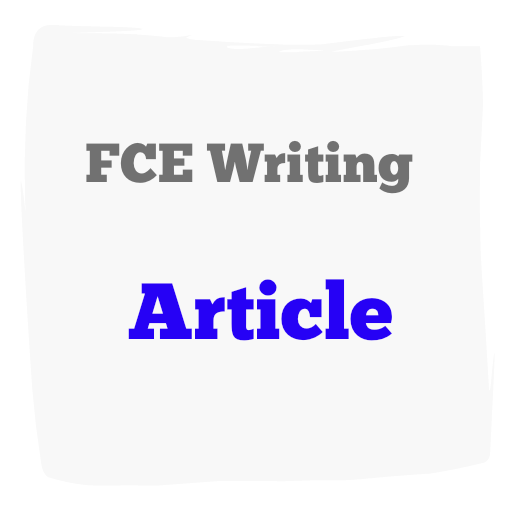 How to write an article in english fce online