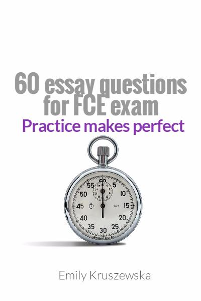 essay for english exam