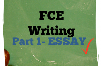 FCE Writing Part 1 essay A