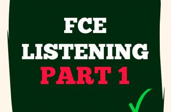 FCE Listening Part 1 A