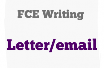 FCE writing part Complaint letter