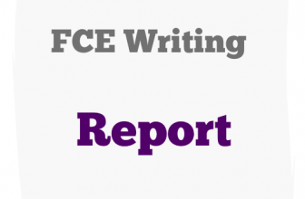 FCE Writing Part 2 report b