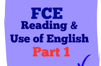 Use of English Part 1A