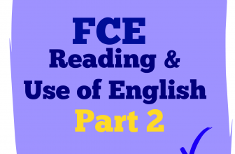 Use of English Part 2 A