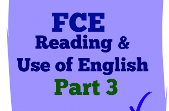 Use of English Part 3 C