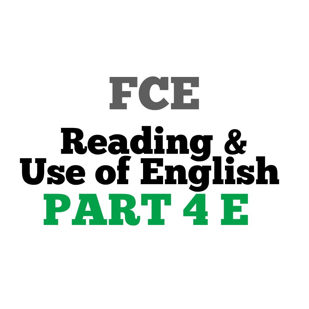 Reading and Use of English Part 3 - Word Formation