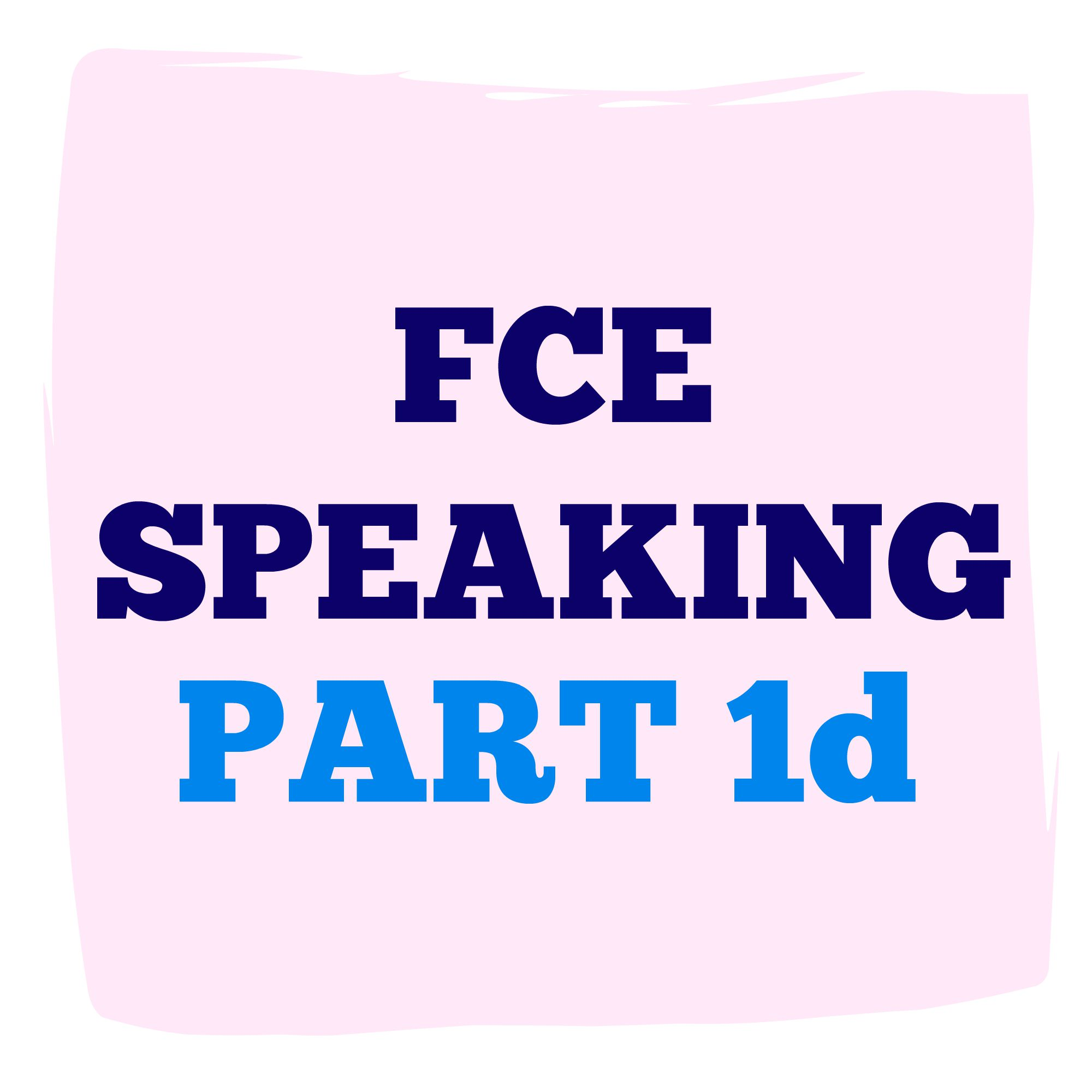 english part 1 Ket speaking part 1 &2 the ket speaking has two parts in total, it should take 8-10 minutes generally, when you take the speaking part of the ket you will do the.