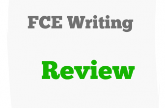 FCE Writing Part 2 review and sample answer C