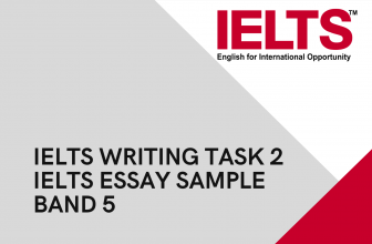 IELTS Writing Task 2/ IELTS Essay sample band 5