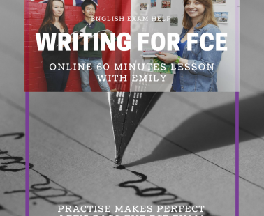Online English Lesson – Writing for FCE